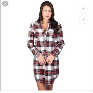 Lauren James Plaid Dress